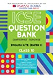 Oswaal ICSE Question Bank Chapterwise English Lit. II for Class 10 (Mar. 2018 Exam)