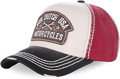 Von Dutch Gorra Curva Dylan 01 Black Red Beige: Amazon.es: Ropa y ...