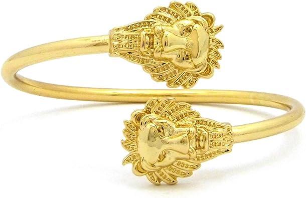 Roaring Gold Lion Bracelet