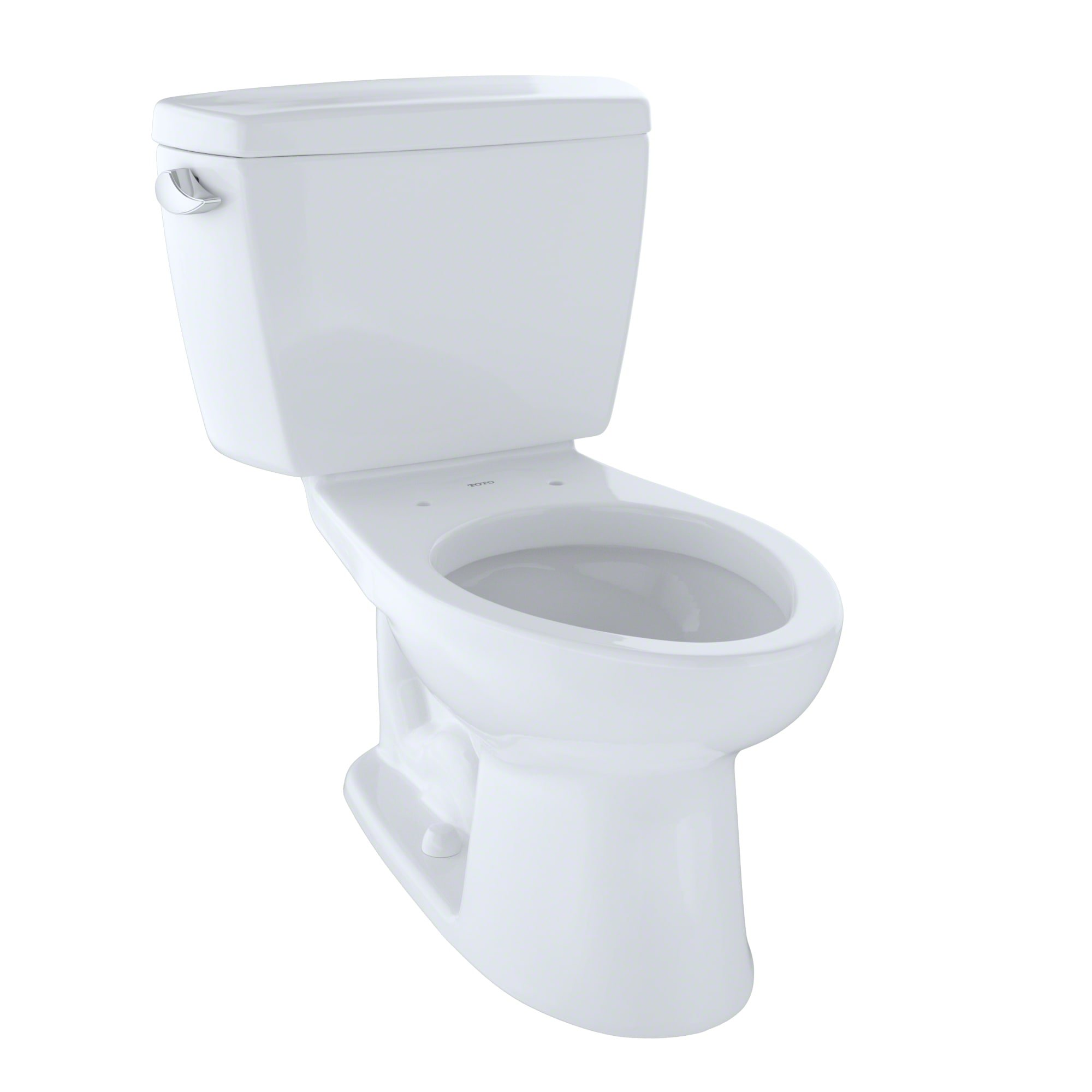 TOTO CST744SL#01 Drake 2-Piece Ada Toilet with Elongated Bowl, Cotton White by TOTO