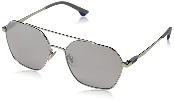 Police Vibe 2 Gafas de Sol, Gris (Shiny Palladium/Grey ...