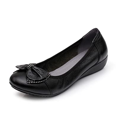 Chaussures plates pour femmes/Maman et chaussures de fond mou/Plus size casual chaussures femme-B Longueur du pied=22.3CM(8.8Inch) WKc817uE5G