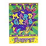 Mardi Gras Party Invitations, 8ct