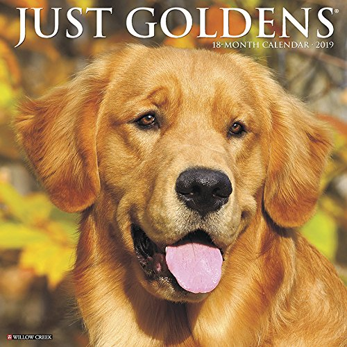 Just Goldens 2019 Wall Calendar (Dog Breed Calendar)