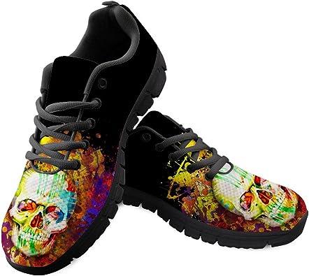chaussures tête de mort homme femme 11