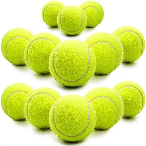Pack de 18 pelotas de tenis: Amazon.es: Deportes y aire libre