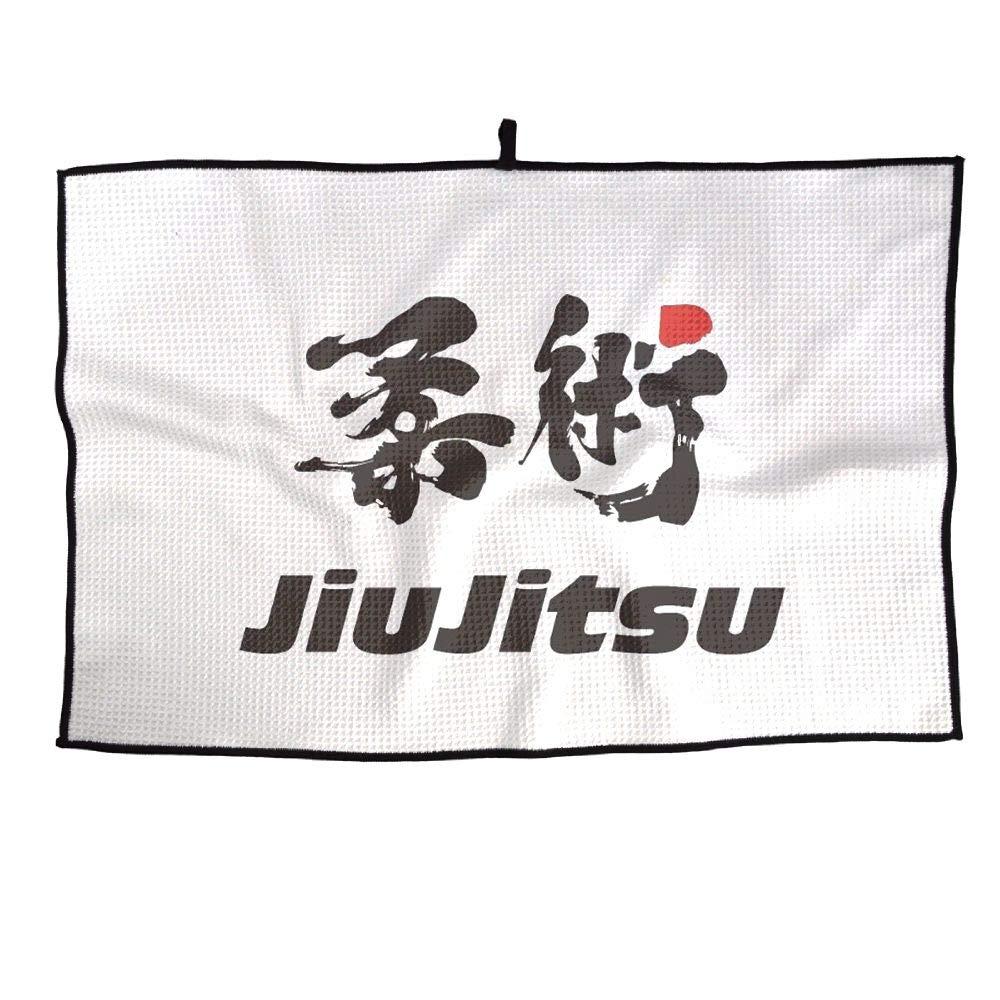 IRON1974 ゴルフタオル Jiu-Jitsu スポーツタオル 23x15インチ ジムプレーヤータオル   B07JJ9GT9G