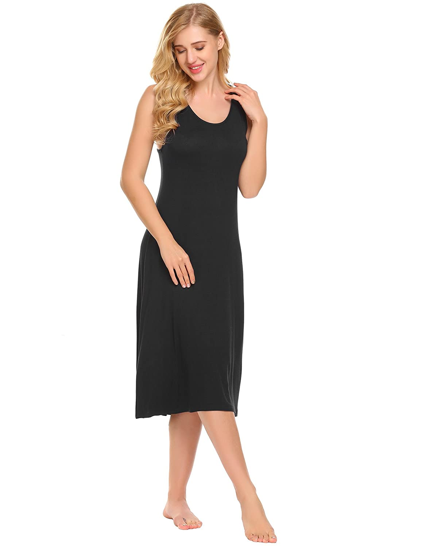 Womens Oversized Midi Dress V Neck Calf Length Kimono Tunic Plus Sizes 8-18 FM22