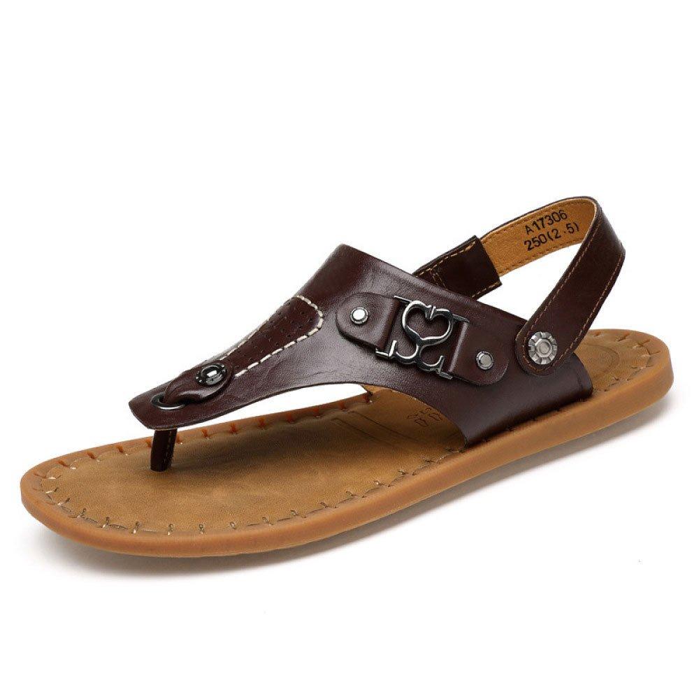 Sandalias Y Zapatillas Antideslizantes Hechas A Mano Zapatillas De Verano Sandalias Zapatos De Playa 38 EU Darkbrown
