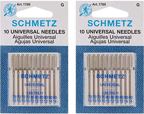 Purchase Euro-Notions Universal Machine Needles, 10-Pack (2 pack)