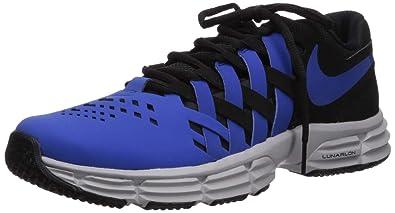 big sale 76e7f 1cb55 Nike Lunar Fingertrap TR, Chaussures de Fitness Homme, Multicolore (Black Game  Royal