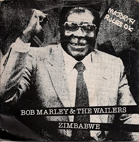 "Bob Marley And The Wailers Zimbabwe UK 45 7"" single +Picture ..."
