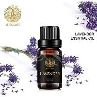 Aphrosmile Lavender Essential Oil - 100% Pure Lavender Oil, Organic Therapeutic-Grade Aromatherapy Essential Oil 10mL/0.33oz