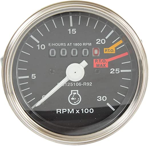 Tachometer for Case International Tractor 706 806 Others-388588R91