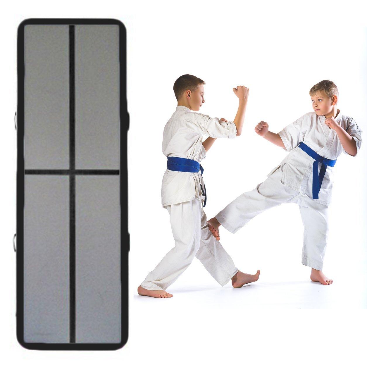 Dailyinshop Inflable Taekwondo Aire Pista colchoneta de Gimnasia Entrenamiento de Artes Marciales Colchón