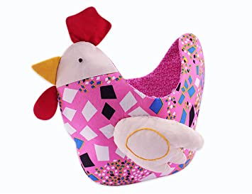 Amazon do it yourself chicken pouch easy sewing kit fabric do it yourself chicken pouch easy sewing kit fabric patch quilt kit for beginner pink solutioingenieria Gallery