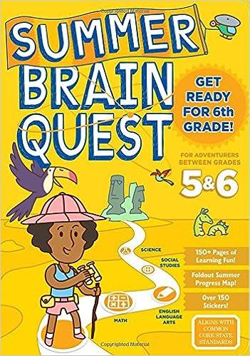 Amazon Summer Brain Quest Between Grades 5 6 9780761193289