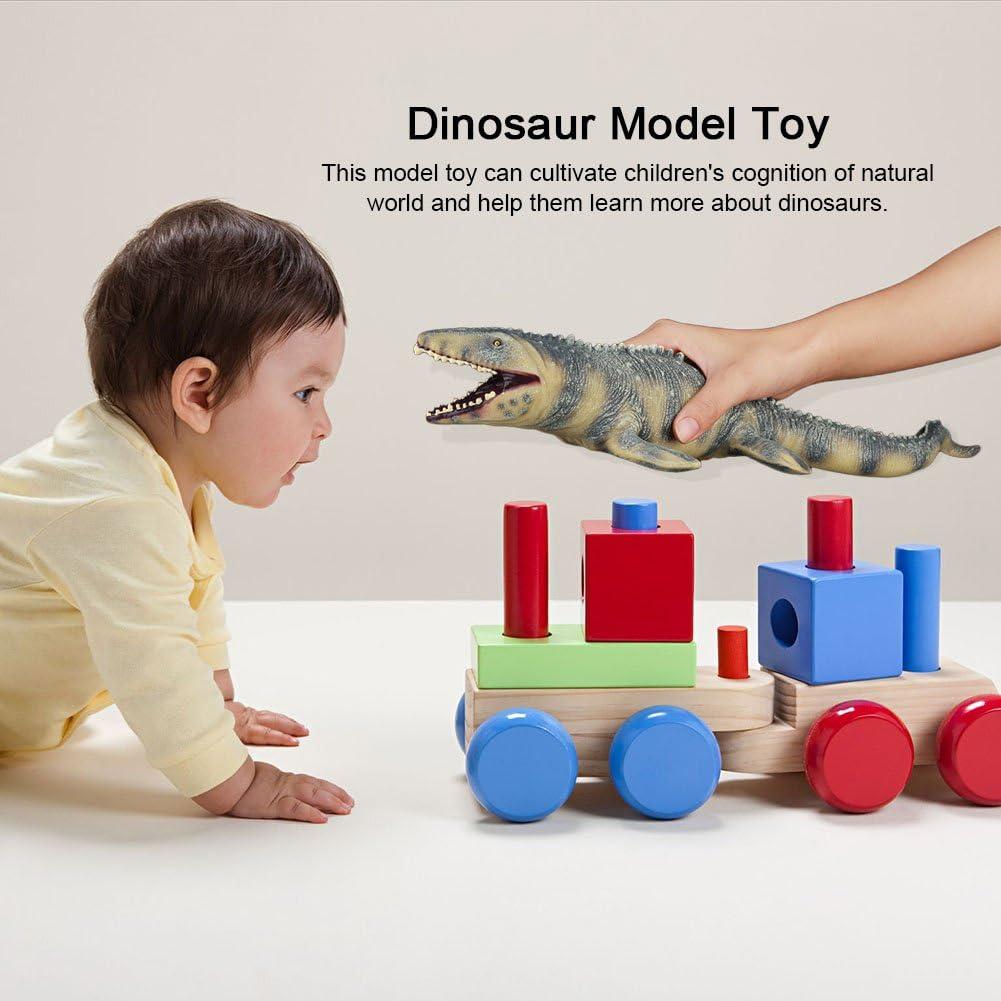 45CM Realistic Dinosaur Mosasaurus Animal Model Figure Kids Toy or Festival v-JT
