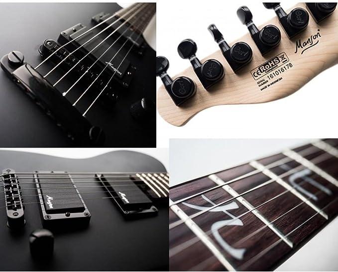 Guitarra eléctrica Tl Cort M-Jet Bk: Amazon.es: Instrumentos musicales