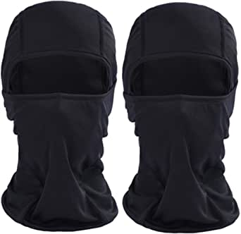 Balaclava Face Mask UV Protection Masks for Cold Weather Ski Sun Hood for Men Women Motorcycle Cycling Tactical(2 Pack)