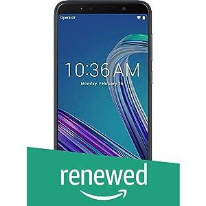 (Renewed) Asus Zenfone Max Pro M1 (Black, 64 GB) (4 GB RAM) | 5000 mAh Battery (Black)