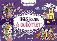 Ephéméride 365 jours à colorier par Eugénie Varone