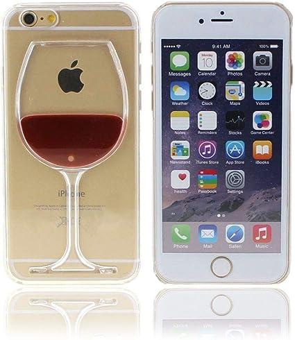 easy_case Coque iphone 6, Coque iphone 6S, Pas Cher, agréable, Verre de vin Rouge, Rigide; Coque pour iphone 66S