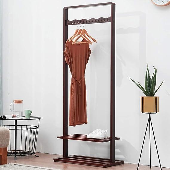 Amazon.com: XF Coat Racks Coat Rack Wood Hanger Floor Home ...