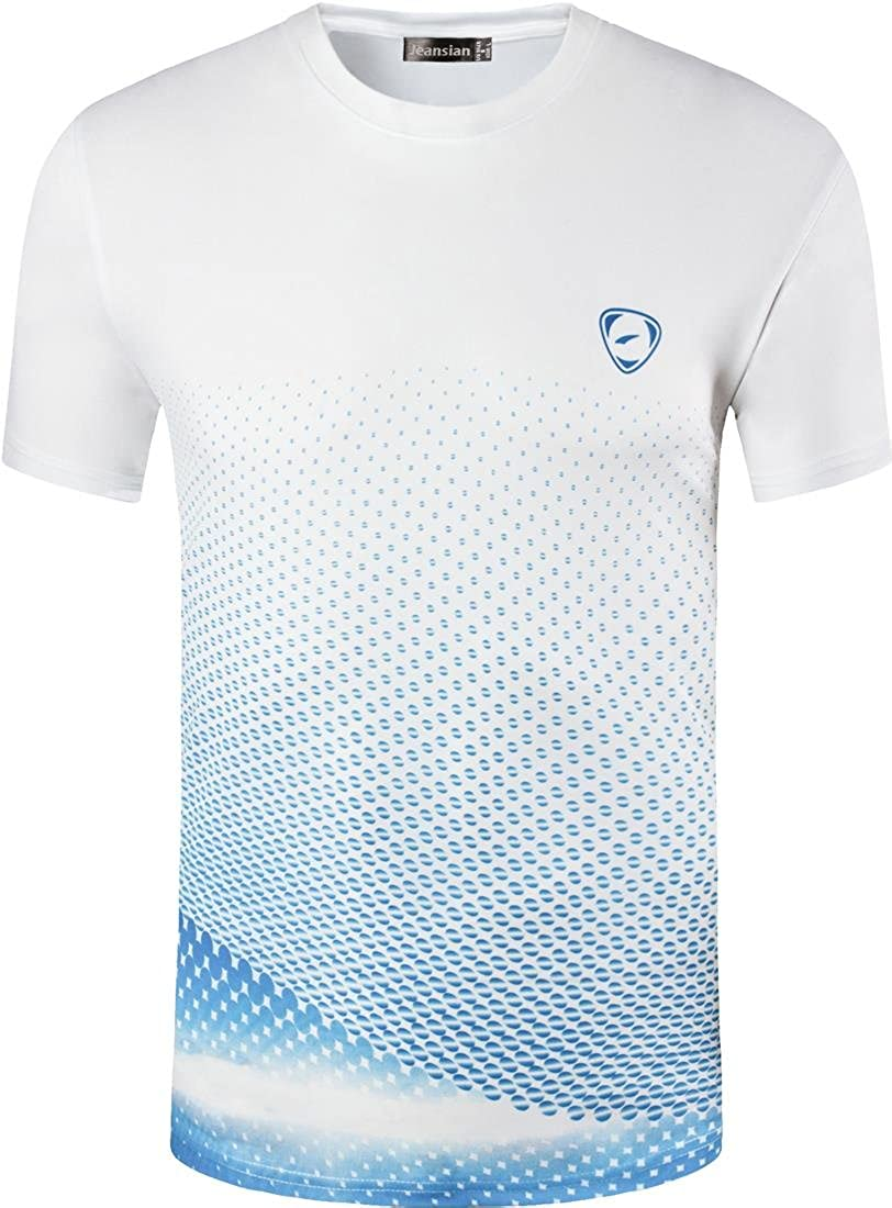 outlet store Jeansian Men's Sports Quick Dry Short Sleeves T Shirt ...