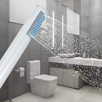 KangHS Alcachofa, Kit de ducha de alta presión para rociador de ducha con cabeza de palo de ducha con ahorro de agua: Amazon.es: Bricolaje y herramientas