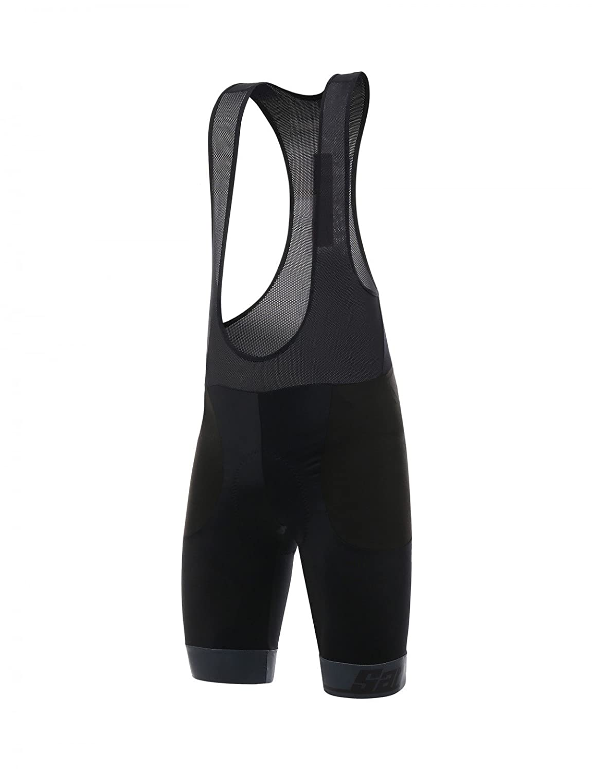 Santini Impact Bib Short – Men 's B077ZR2974 Medium|ブラック ブラック Medium