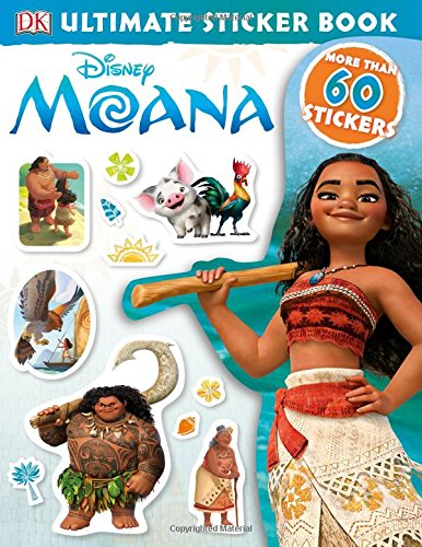 Ultimate Sticker Book: Disney Moana (Ultimate Sticker Books)