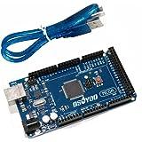 OSOYOO MEGA2560 R3 Control Board ATMEGA2560-16AU For Arduino 3D Printer Kit Compatible with USB Cable