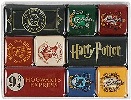 Comprar 9 imanes para la nevera de Harry Potter