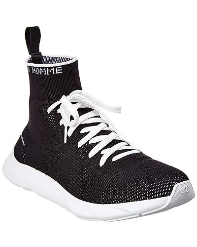 Christian Dior Baskets Mode pour Homme Noir Noir - Noir - Noir, 39 EU 0f7ca276471