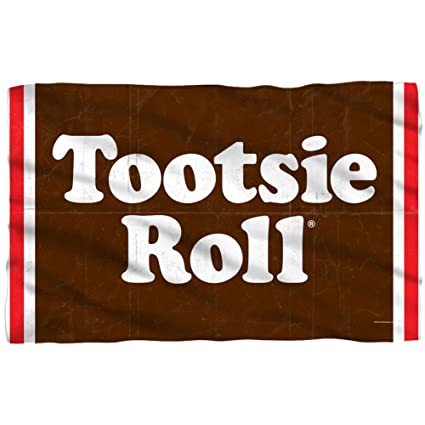Amazoncom Tootsie Roll Wrapper Fleece Blanket 57 X 35in Home