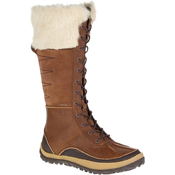 Merrell Women's Tremblant Tall Polar Waterproof Snow Boot, Merrell Oak, 6.5 M US best women's snow boots