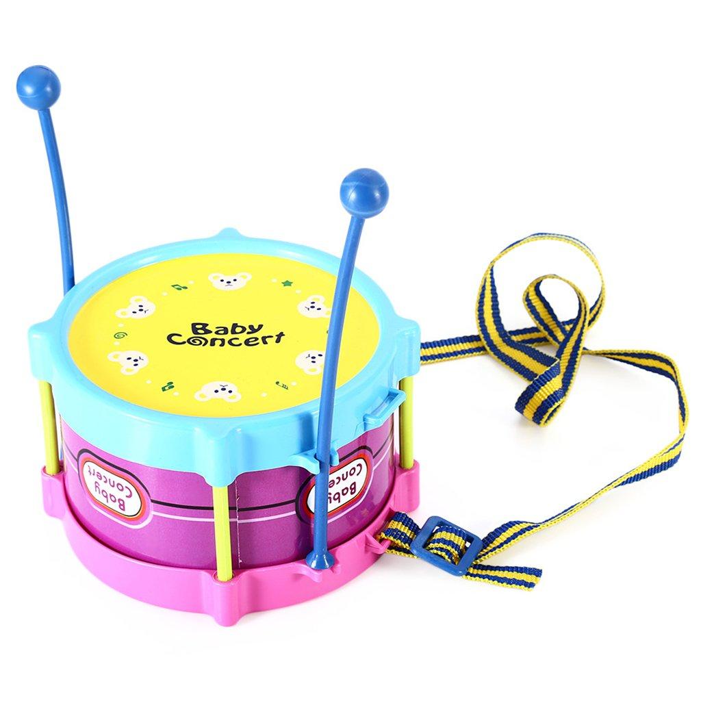 Homyl 5 St/ücke Baby Trommel Drumstick Maracas Rasseln Trompete Kinder Musikinstrument p/ädagogischs Spielzeug