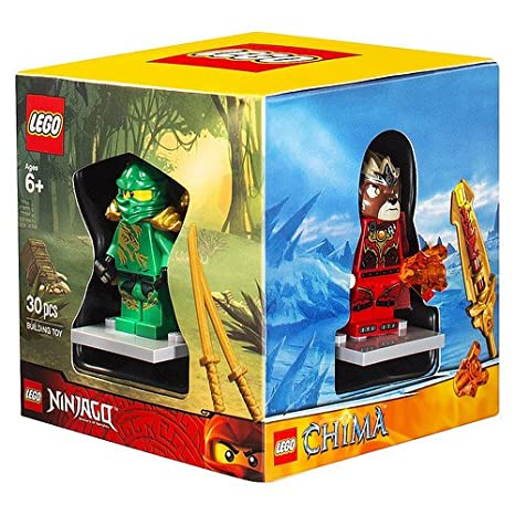 Amazon.com: LEGO Minifigure 4 Pack BOX Set, Superboy, Verde ...