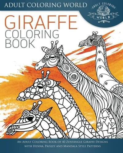 Giraffe Coloring Book for Adults
