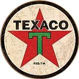 Tin Signs TSN1798-BRK Texaco Round