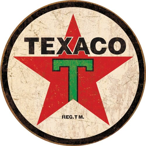 Tin Signs TSN1798 BRK Texaco Round product image