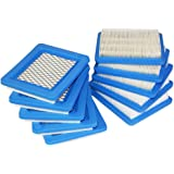 Poweka New Pack Of 10 Air Filter Replacement Fit For Briggs Stratton 491588 491588S 4915885 399959 JOHN DEERE PT15853 Oregon 30-710