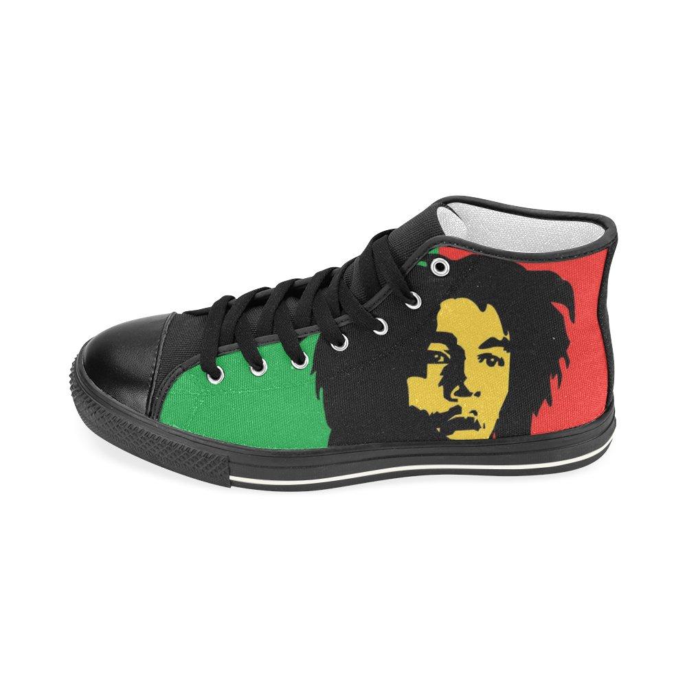 Bob Marley Shoes Rasta high top