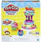 Conjunto de Massinha Play-Doh Bolos Divertidos 5 Potes Hasbro