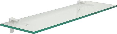 Spancraft Cardinal Floating Glass Shelf 18 in. W x 6 in. D