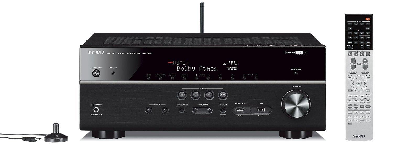 Yamaha MusicCast RX-V681 - Receptor Audio y Video en Red (WiFi, Bluetooth