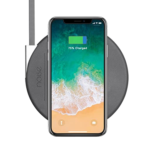 Noise MA WC SLIM004 STD DGRY Fast Wireless Charging Pad  Slate Grey  Induction Chargers