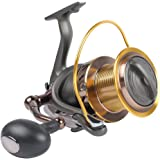 Dr.Fish Saltwater 10000/12000 Spinning Reel for Surf Fishing, 13+1 BBS, 48LB Max Drag, Ultra High Capacity, Heavy Duty…