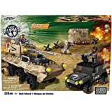 True Heroes Exclusive Mega Bloks Set Tank Attack